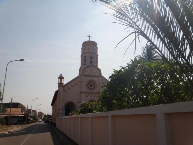 L'église catholique de la ville