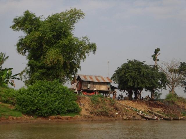 au bord du Tonle Sap