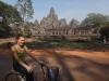 Temple Bayon dans Angkor Thom