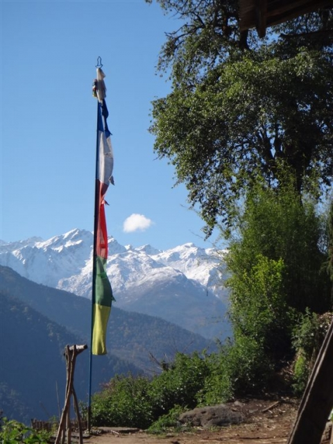 drapeau bouddhiste