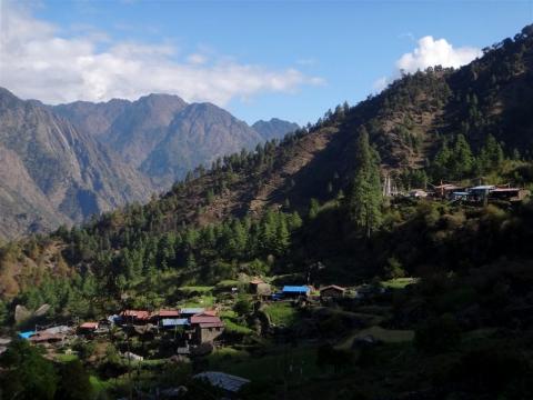 Village de Briddhim.