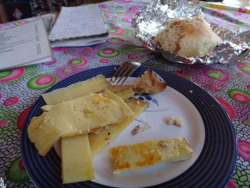 Fromage de Yak grillé, un must!