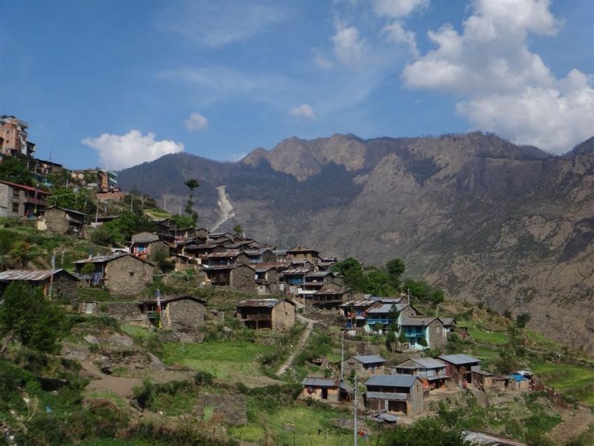 Village de Dhunche