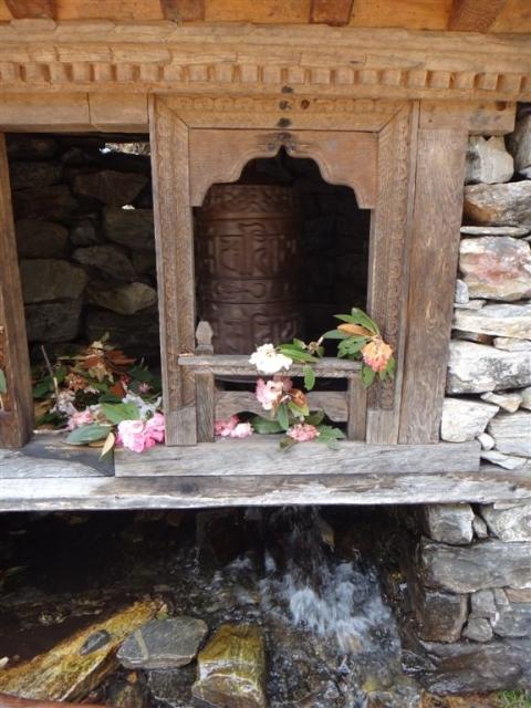 Moulin à prières à eau!
