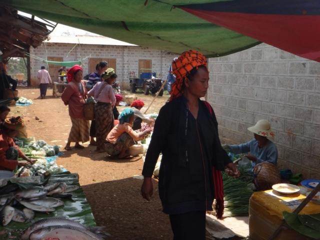 Au marché de Nantaing