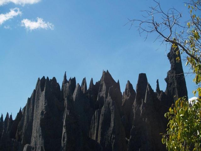 Les tsingy de Madagascar
