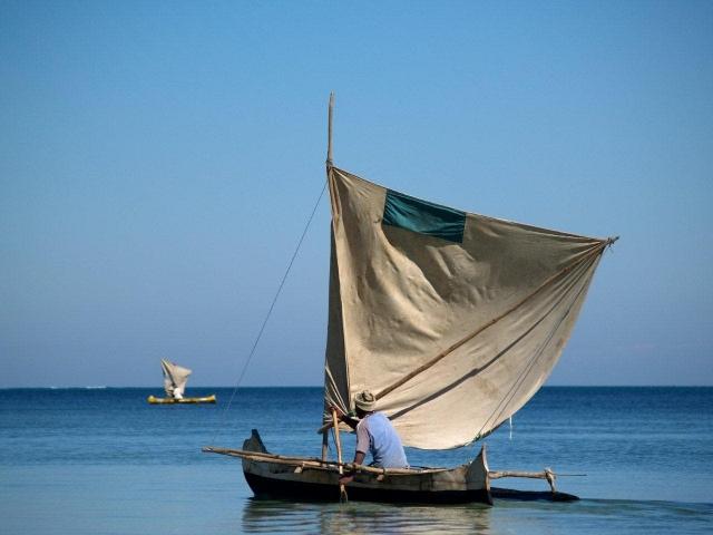 voilier de Vezo (pêcheur)