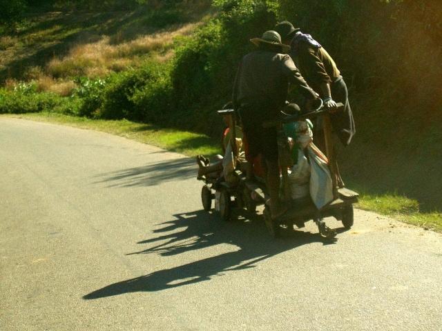 sur la route vers Manakara
