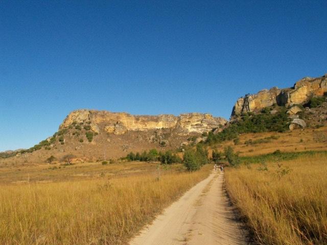 En route vers le Massif de l'Isalo