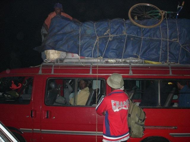 Taxi brousse vers Manakara