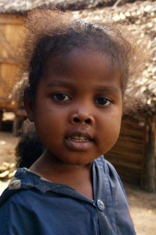 Portrait d'enfant canal des Pangalanes