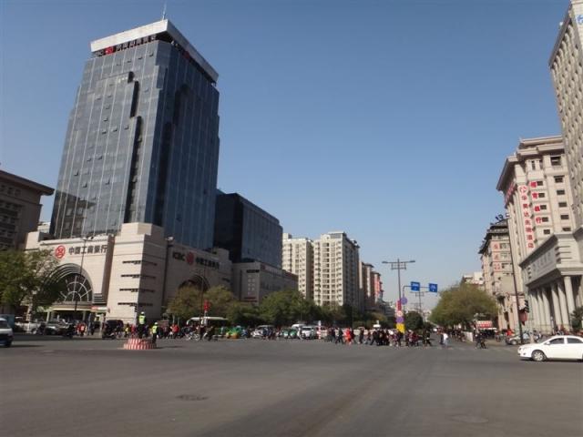une avenue de Xi'an