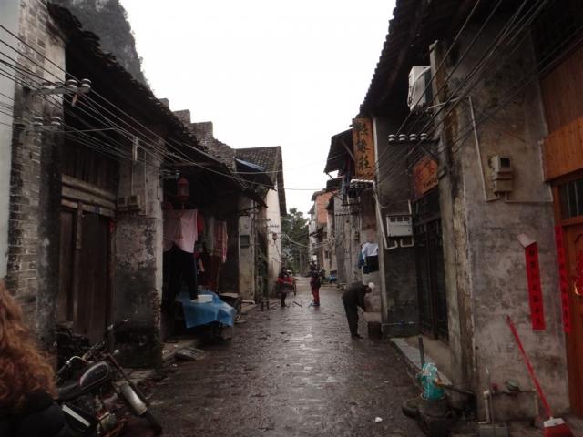 Une ruelle de Xingping