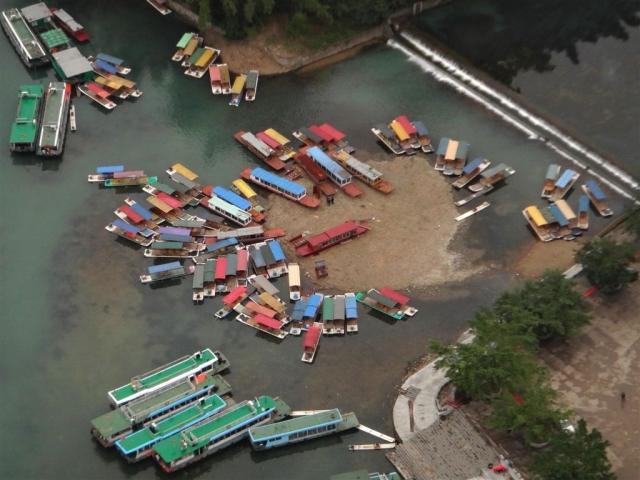 Chomage technique pour tous les bateaux de touristes
