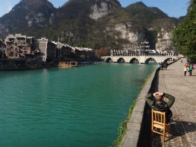 tranquille la vie a Zhenyuan