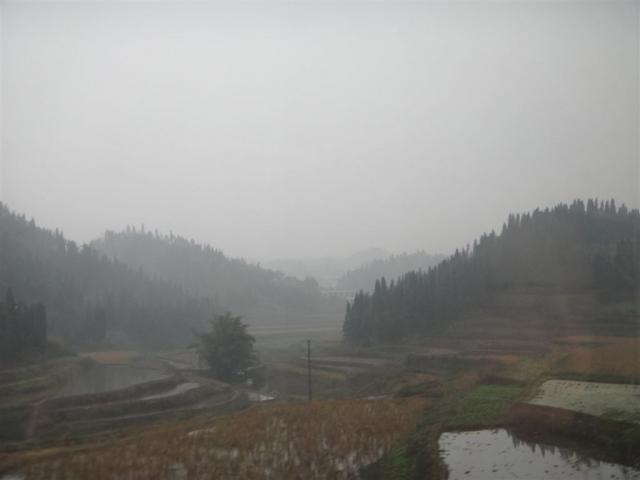 Encore du brouillard ..