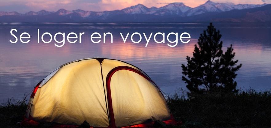 se loger en voyage